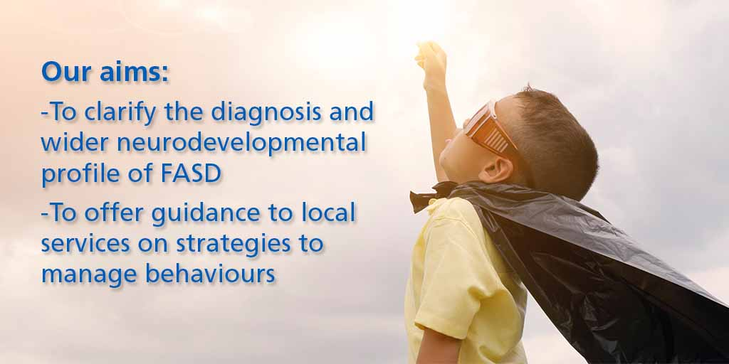 Our aims: To clarify the diagnosis and the wider neurodevelopmental profile and to offer guidance to local services on strategies to manage behaviours in the most complex group, including cases where difficulties continue to be experienced.